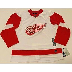 Adidas Authentic Detroit Red Wings Mens Sz 46 NHL